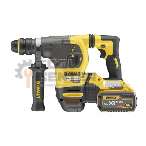 DeWALT DCH334X2 54V BRUSHLESS XR FLEXVOLT ΠΙΣΤΟΛΕΤ0 SDS-PLUS 3.5J 2 X 9.0Ah & ΑΥΤΟΜΑΤΟ ΤΣΟΚ (#DCH334X2-QW)