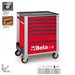 BETA 2400S-R7/E-M ΕΡΓΑΛΕΙΟΦΟΡΕΑΣ ΜΕ ΣΥΛΛΟΓΗ 210 ΕΡΓΑΛΕΙΩΝ RED (#B024002297)