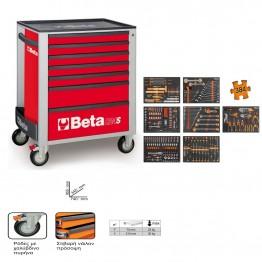 BETA 2400S-R8/E-XL ΕΡΓΑΛΕΙΟΦΟΡΕΑΣ RED ΜΕ ΣΥΛΛΟΓΗ 384 ΕΡΓΑΛΕΙΩΝ (#B024002299)