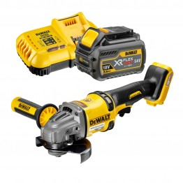 DeWALT DCG414T1 54V XR FLEXVOLT 125mm ΓΩΝΙΑΚΟΣ ΤΡΟΧΟΣ (#DCG414T1)