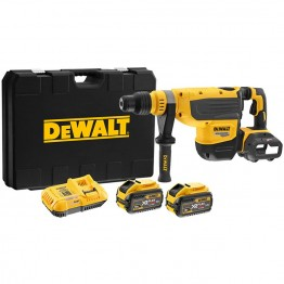 DeWALT DCH733X2 54V XR BRUSHLESS FLEXVOLT ΠΙΣΤΟΛΕΤΟ SDS-MAX 8kg 13.3J (#DCH733X2)