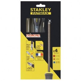 STANLEY FMHT0-62060 FATMAX® ΣΕΤ 4 ΤΕΜ ΚΑΤΣΑΒΙΔΙΩΝ ΜΕ ΜΥΤΗ ΔΙΑΜΑΝΤΙΟΥ (#FMHT0-62060)