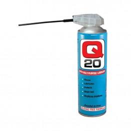 Q 20 SUPER MULTI-PURPOSE LUBRICANT ΛΙΠΑΝΤΙΚΟ ΑΝΤΙΣΚΩΡΙΑΚΟ SPRAY ΜΕ ΒΑΛΒΙΔΑ 450ml (#Q20-M450)
